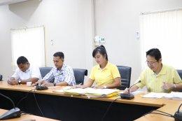 ประชุมคณะกรรมการการเลือกตั้งประจำเทศบาลตำบลท่าสาป ครั้งที่ 2/2564