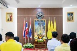 พิธีรับพระราชทานพระบรมฉายาลักษณ์ พระบาทสมเด็จพระเจ้าอยู่หัวและสมเด็จพระนางเจ้าฯ พระบรมราชินี