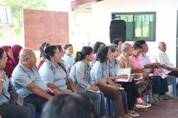 ประชุมโครงการขับเคลื่อนระบบดูแลและคุ้มครองทางสังคมของผู้สูงอายุระดับพื้นที่