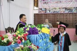 พิธีมอบวุฒิบัตรนักเรียนชั้นอนุบาล 3 และชั้นประถมศึกษาปีที่ 6 ณ โรงเรียนบ้านลิมุด