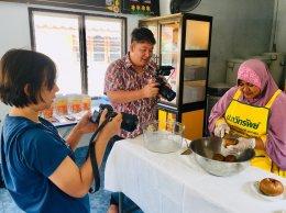 ตัวแทนเจ้าหน้าที่จากการท่องเที่ยวแห่งประเทศไทย ลงพื้นที่ตำบลท่าสาป