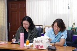 ต้อนรับรองศาสตราจารย์ ดร.สุพรรณี ไชยอำพร และคณะนักศึกษาปริญญาเอก จาก NIDA