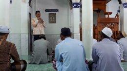 ลงพื้นที่พบปะชาวบ้านท่าสาป ณ มัสยิด หมู่ 5