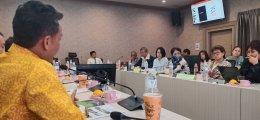 ประชุมนำเสนอรายงานความก้าวหน้าของโครงการภายใต้บันทึกข้อตกลงความร่วมมือทางวิชาการระหว่างจังหวัดยะลา