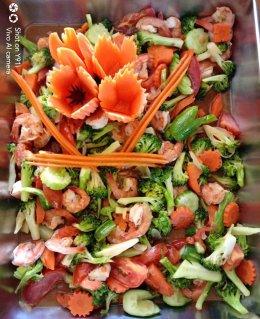 อาหารกลางวันศูนย์พัฒนาเด็กเล็กนูรุลฮูดา เทศบาลตำบลท่าสาป