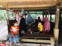 คัดกรองครอบครัวที่กลับจากประเทศมาเลเซีย จำนวน 3 ราย