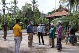 วัฒนธรรมจังหวัดยะลา ลงพื้นที่ หมู่ 1 ตำบลท่าสาป เพื่อมอบถุงพระราชทานแก่โต๊ะอีหม่ามและประชาชนในตำบล