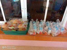 อาหารกลางวันของเด็กๆตามนโยบายของกรมส่งเสริมการปกครองส่วนท้องถิ่น