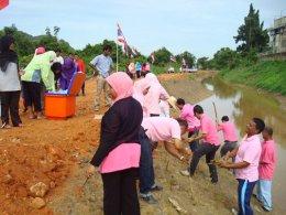 โครงการปลูกป่าและหญ้าแฝกเฉลิมพระเกียรติ  ประจำปี  2553