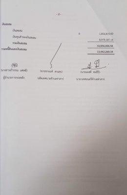 รายงานผลงบการเงินประจำปี 2559