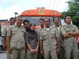 รณรงค์ป้องกันและลดอุบัติเหตุทางถนน