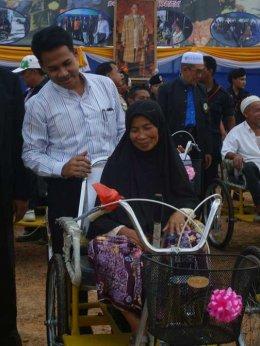 มอบน้ำใจแด่คนพิการเฉลิมพระเกียรติพระชนมพรรษา 84 พรรษา