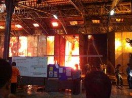 ประมวลภาพไฟไหม้โรงงานเซาวท์แลนด์รับเบอร์