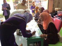 โครงการจัดเวทีประชาคม เพื่อรับฟังราษฎรที่ใช้ที่ดินสาธารณะประโยชน์แปลงบ้านลางา(เกาะลอย)