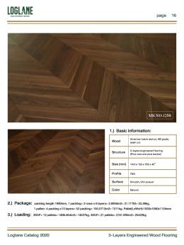 3 Layers Engineered Wood Flooring