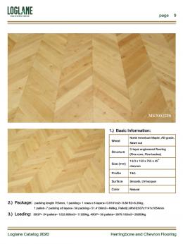 Herringbone & Chevron Flooring