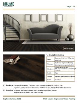 Multi Layers Engineered Wood Flooring