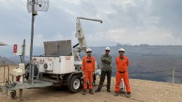 GroundProbe MTM on April 2021 at EGAT Mae Moh
