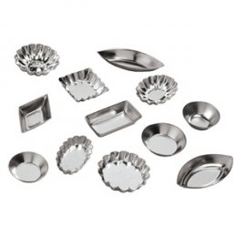 4840 Ateco TARTLET MOLD SET 72PC