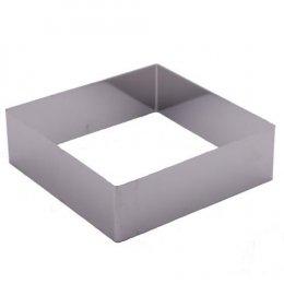 พิมพ์เค้กสี่เหลี่ยมแบบไม่มีก้น 6 นิ้ว หนา-2 ปอนด์-N