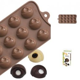 FORM003 Pavoni CHOCOLATE PRALINES: FORMIDEA
