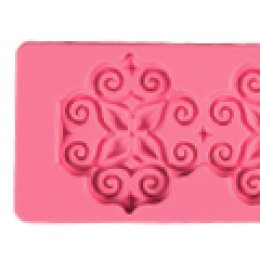 ST14 Pavoni SILICONE MOULD: ARABESQUE