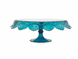 PAPILLONTDGS : Pavoni CAKE STAND 280MM GREEN