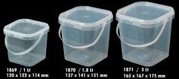 1869 กล่องเหลี่ยมเซฟตี้ซิล 1 Lt.@10-N