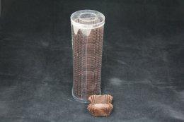 CN0450 Brown(Square) ฐาน 45x45 mm สูง 25 mm