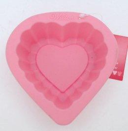 2105-3117 Wilton HEART SILICONE MOLD