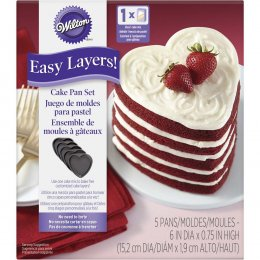 2105-5495 Wilton NS 5PC EASY LAYERS HEART