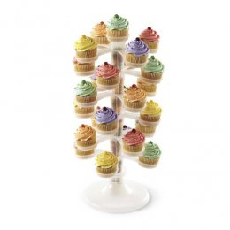 307-2502 Wilton CLEAR CUPCAKE TOWER