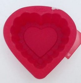 2105-3115 Wilton HEART SILICONE MOLD