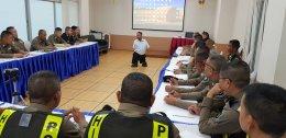 เอกชัย วรรณแก้ว อบรมสร้างแรงบันดาลใจ ให้กับเจ้าหน้าที่ตำรวจจราจร สนง.ตำรวจแห่งชาติ