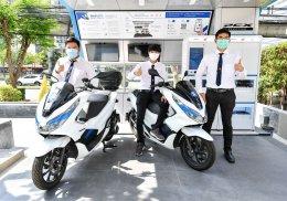 เอ.พี. ฮอนด้าเปิดตัวระบบ PCX Electric Ecosystem