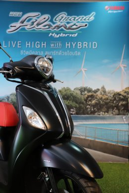 yamaha มอบรางวัล Grand Filano Hybrid