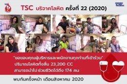 TSC Blood Donation #22 (2020)