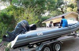 ส่งมอบเรือยาง Liya 580 ณ จังหวัดกระบี่
