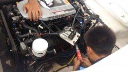งานซ่อมเรือ Chaparral 224