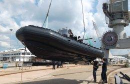 ส่งมอบเรือ Sillinger RIB 650 ณ กรมอู่ทหารเรือ