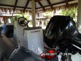 ติดตั้งเครื่อง Suzuki 40HP ที่ จ.พังงา