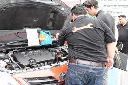 """AutoQuiks จัดกิจกรรม """"สงกรานต์นี้ รถพร้อมใช้ เช็คให้ฟรี"""" ร่วมจับมือกรมการขนส่งทางบก"""
