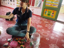 โครงการสนามเด็กเล่นสร้างปัญญา ศูนย์พัฒนาเด็กเล็กบ้านดงหลวง อ.เชียงของ จ.เชียงราย