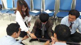 โครงการฝึกอบรมหลักสูตรยกระดับฝีมือ เพื่อพัฒนาศักยภาพบุคลากร สาขาการบริการที่ประทับใจ service mind
