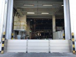 ประตูป้องกันน้ำท่วม บริษัท ไทยเอ็นโอเค จำกัด