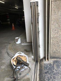 ประตูป้องกันน้ำท่วม ธนาคารไทยพาณิชย์ (สำนักงานใหญ่)