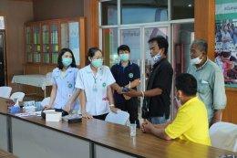 ทีมพี่เลี้ยงส่งเสริมสุขภาพจังหวัดนครปฐมช่วยเลิกบุหรี่ให้กับพนักงานของบริษัทซีเอ็นเอ็มอินดัสตรี้ส์ จำกัด และ อสม. ที่ รพ.สต.บางระกำ อ.นครชัยศรี จ.นครปฐม