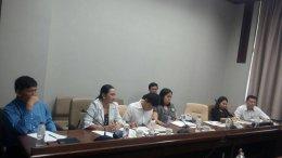 ประชุมปรึกษาหารือการจัดทำข้อเสนอเชิงนโยบายลดความเสี่ยงโรคไม่ติดต่อเรื้อรังในสถานประกอบการ