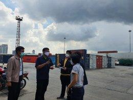 ทีมงาน ส.พ.ส. และ สยส. ร่วมกับพี่เลี้ยงส่งเสริมสุขภาพจาก ศบส.41 เข้าเยี่ยมการท่าเรือแห่งประเทศไทย