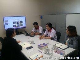 เข้าเยี่ยมสถานประกอบการในโครงการ H2E จังหวัดปราจีนบุรี